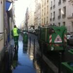 Straßenreinigung in Paris, Methode 3